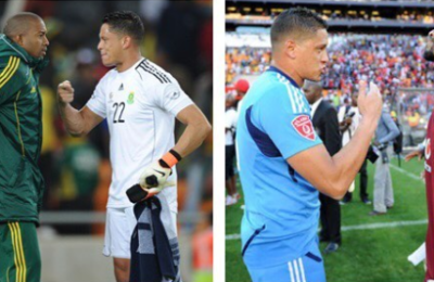 Khune Congratulates Moeneeb Joseph On 20 Years Of Playing Football