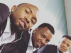 LOL! Check Out Parker Giving Khune A Fresh Haircut