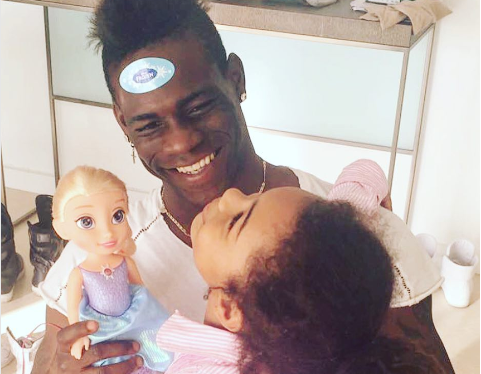 Mario Balotelli Welcomes His Second Child