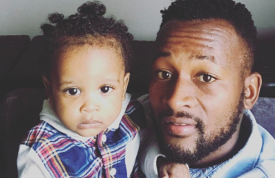 Mpho Makola Celebrates His Son's 2nd Birthday