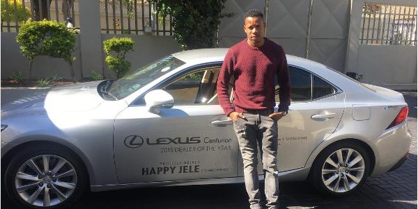 Orlando Pirates' Happy Jele Arrested For Speeding