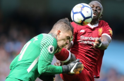 Ouch! Ederson Shows Scars From Mane's Boot Smack