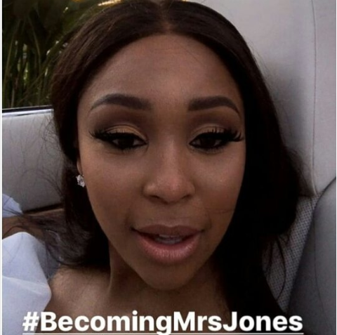 Sports Presenter Minnie Dlamini Gets Married
