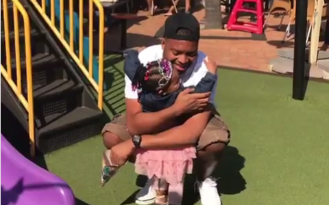 Pics! Khune Celebrates His Niece's Birthday
