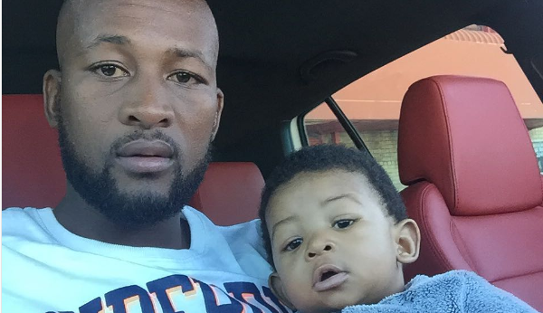 Watch! Mpho Makola Goes All Out For His Son's Birthday