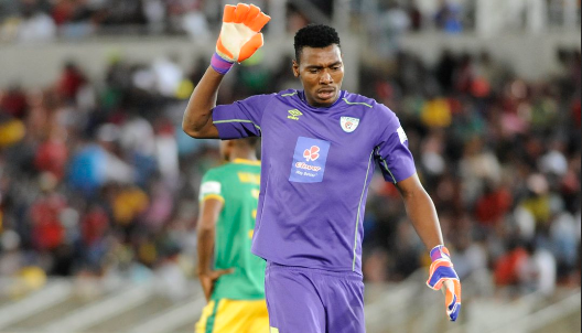 Check Out Which Top PSL Club Former Baroka Keeper Masuluke Was Seen At