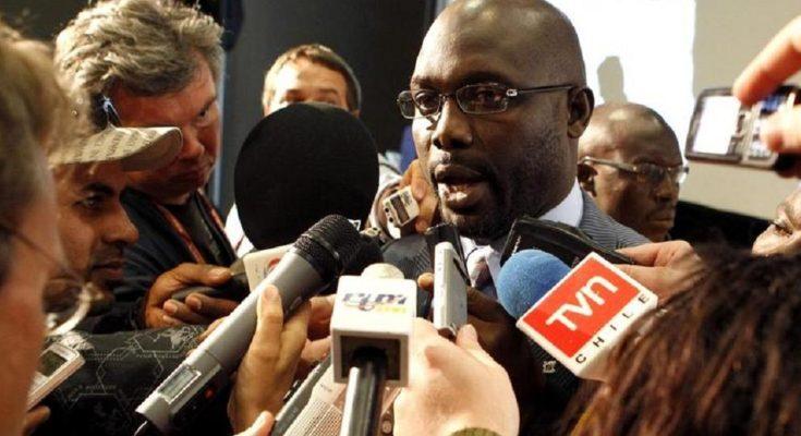 Former 'World Best Footballer' On The Verge Of Becoming Liberian President