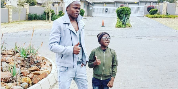 Pic! Katsande's Son Is A Football Star In The Making