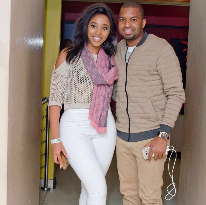 Khune Shows Support To His Lady's Hustle
