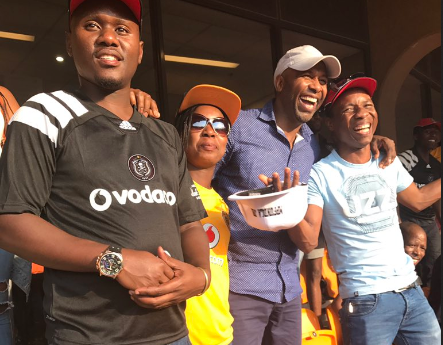 Watch! Lucas Radebe Surprised Fans At The Soweto Derby