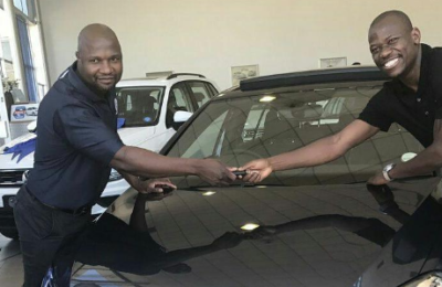 Another One! Check Out Kekana's New Ride!