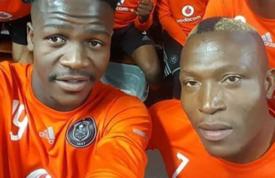 Check Out Ndoro's Birthday Message For His Pirates Friend Shabalala