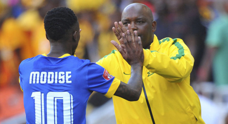 Football Fans React To Teko Modise Calling Pitso Mosimane Out