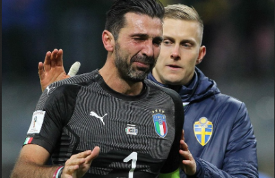 Italy Fails To Qualify For FIFA World Cup 2018