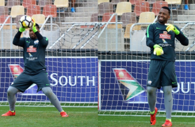 Pics! Check Out Itu Khune's Face Mask