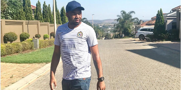 Pics! Check Out Khune's Latest Cool Haircut From Parker!