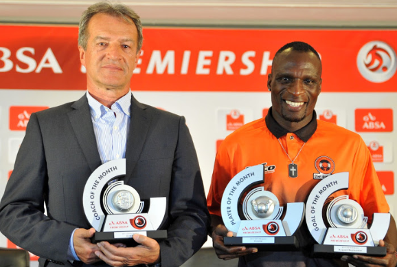 Ramagalela and Celtic's Jelusic Win PSL Player And Coach Awards