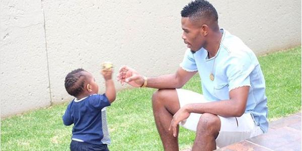 Thulani Hlatshwayo Celebrates His Son's 2nd Birthday