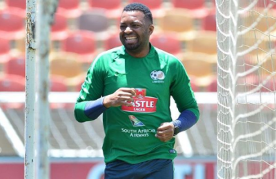 Watch! Khune Trains For Friday's Match Against Senegal