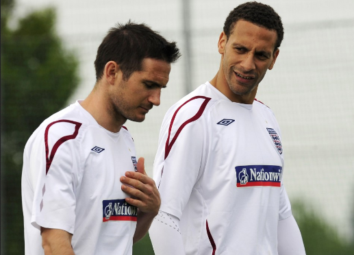 Watch! Why Childhood Friends Ferdinand And Lampard Stopped Talking