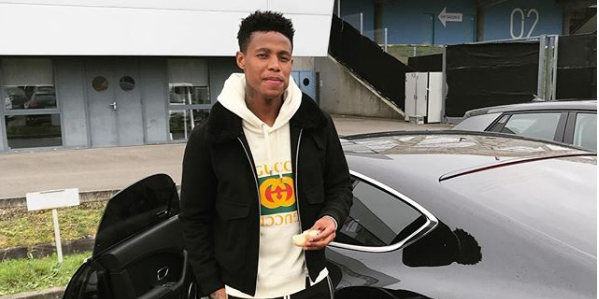 Zungu Shows Off His R10 000 Balenciaga Sneakers