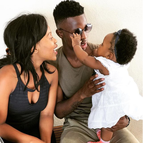 In Pics! SA Soccer Stars And Their Cute Families