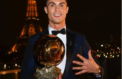 Ronaldo Reacts To Winning His 5th Ballon d'Or