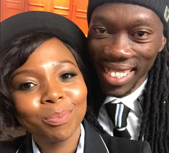 Surprise! Reneilwe Letsholonyane And Mpho Maboi Are Finally Married