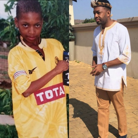 Then And Now! SA Soccer Stars When They Were Young