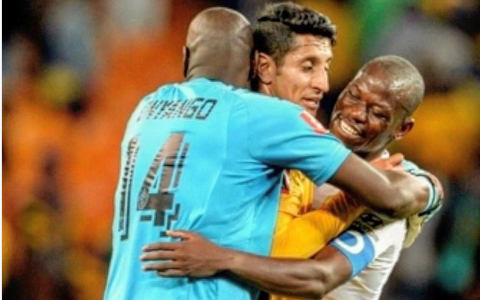 Check Out Onyango's Message To Former Teammate Castro