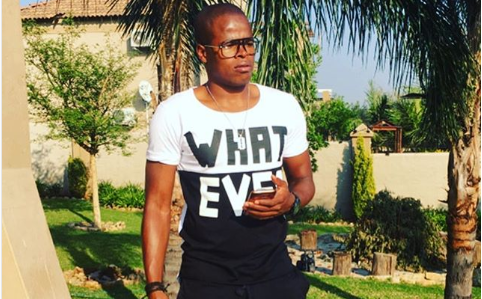 Katsande Sends Inspiring Khune A Message