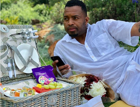 Pics! Khune Takes His Girlfriend On A Romantic Picnic