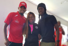 Pics! Yeye And His Lady Hang Out With Eto'o