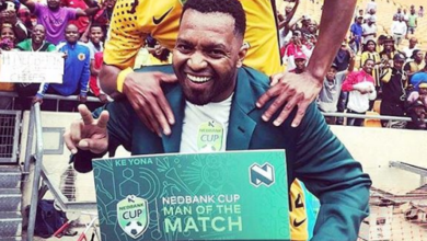 LOL! Khune Credits Running Stomach For Getting Man Of The Match