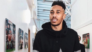 Pics! Check Out Asernal's Aubameyang's R2.4m Ride