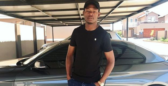Pics! Check Out Ndumiso Mabena's Car Collection