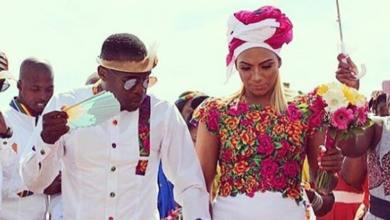 Pics! Maluleka Celebrates One Month Wedding Anniversary