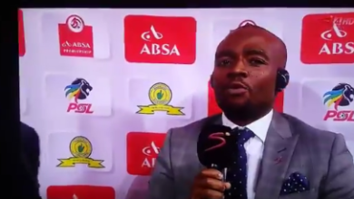Thabiso Tema Hilariously Tries To Pronounce Free State Stars Coach's Name
