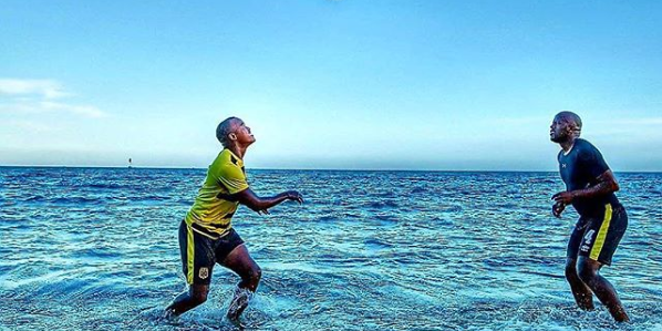 Pics! Cape Town City FC Players Enjoy Mozambique