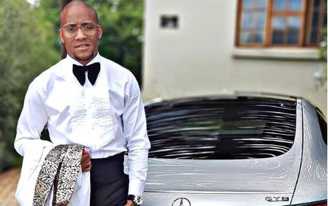 Pics! Dino Ndlovu Shows Off His Impressive Car Collection