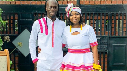Pics! Inside Yeye And Mpho Maboi's Traditional Wedding