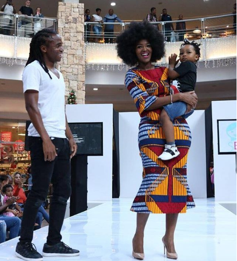 5 Pics That Prove Siphiwe Tshabalala And His Wife Are The