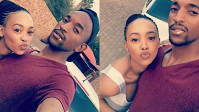 5 Photos Of Sundowns' Tiyani Mabunda That Prove He's A Great Husband And Dad