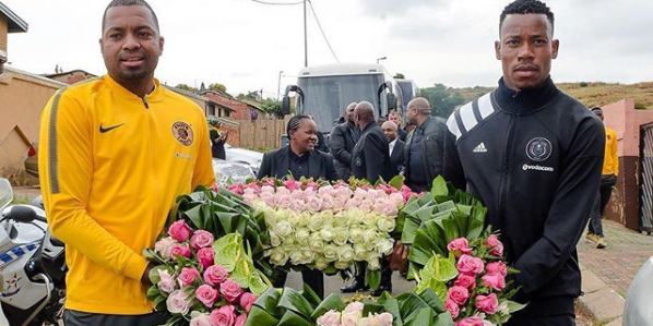 Khune And Jele Lead Their Clubs To Pay Respect To Mam Winnie Madikizela-Mandela
