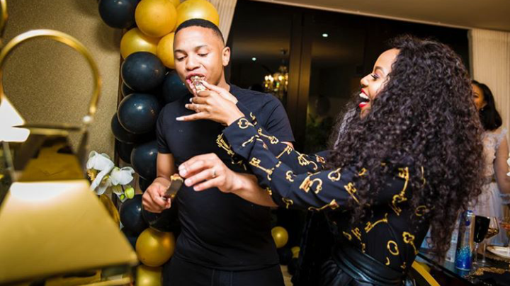 Pics! Andile & Nonhle Jali Finally Reveal Their 1 Year Old Twins!