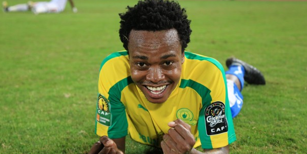 Pic! Sundowns' Percy Tau Gets A New Car