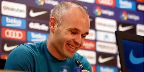 Former Barcelona Star Andres Iniesta Signs With New Club