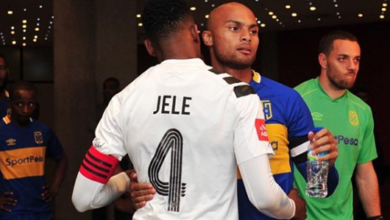 Robyn Johannes Shows Off His Cool Bromance With Happy Jele