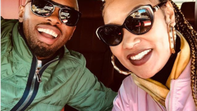 Bernard Parker And Wife Celebrate Their Anniversary