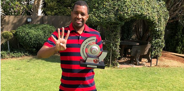 Itu Khune Hits Back At Critics Again Over Showing Off His Achievements
